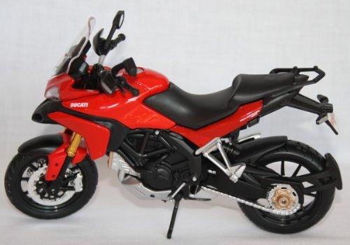Ducati Spielzeug Motorrad (Motorrad Modell Maisto 1:12 Ducati Multistrada 1200 S)