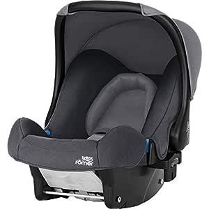 Britax Römer Babyschale Geburt 13 Monate I 0 13 Kg I Baby Safe Autositz Gruppe 0 I Storm Grey Baby