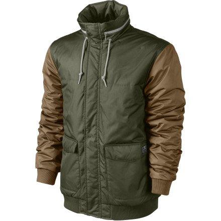 nike SB mens camp shell hooded coat jacket storm fit 1 547320 252 (XL)