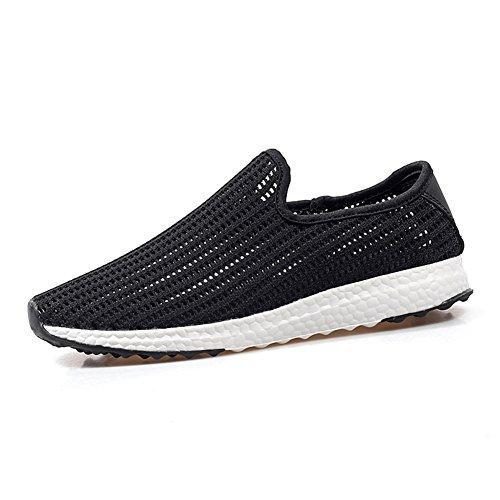 Estate scarpe traspiranti di amanti/Scarpe tempo libero uomo semplice Nero