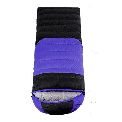 RJ YXX Schlafsack Umschlag Daunenschlafsack Im Freien Camping Multifunktion Fortgeschritten Winddicht Wasserdicht Anti-kalt, Kaschmir Inhalt von 800 Gramm -