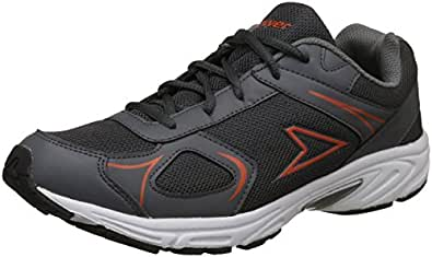 Power Men's Brian Grey Running Shoes-8 UK/India (42 EU) (8392086)