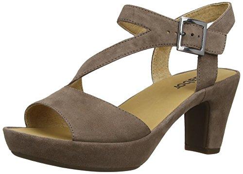 Gabor - Charisma, sandali  da donna Beige(Beige (dark-nude))