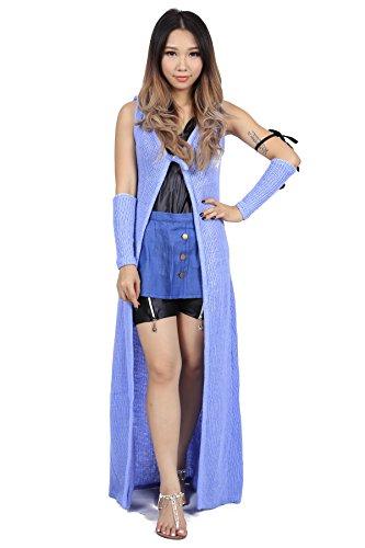 De-Cos Final Fantasy VIII Forest Owls Member Rinoa Heartilly Outfit V1 (Cosplay Heartilly Kostüm Rinoa)