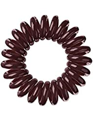 Invisibobble Lot de 3 élastiques à cheveux Chocolate Brown Marron