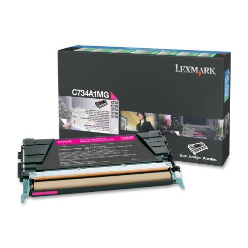 Preisvergleich Produktbild Lexmark C734A1MG - Tonerpatrone, C734A1MG