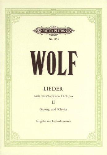 Various Poets (Byron, Heine, Shakespeare etc.) .2 par Hugo Wolf
