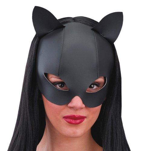 Carnival Toys - Máscara para disfraz de adulto Catwoman, Batman Halloween (892)