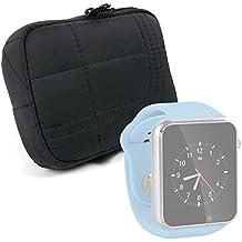 DURAGADGET Funda Para Reloj AGPtek A1 | LaTEC | Pebble Classic | Time Round | Posma W1 | Pushman 1 | Zolimx U80 - Con Cierre De Cremallera - Alta Calidad