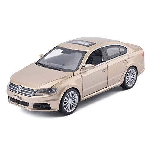 IVNGRI-Auto Model Legierung 1/32 Lavida Limousine Diecast Modellauto mit Sound und Licht - Simulation Automodell Spielzeug, Pull Back Automodell, Gold, 15,5 x 6,5 x 6,2 cm (Kit Nissan Model Auto)