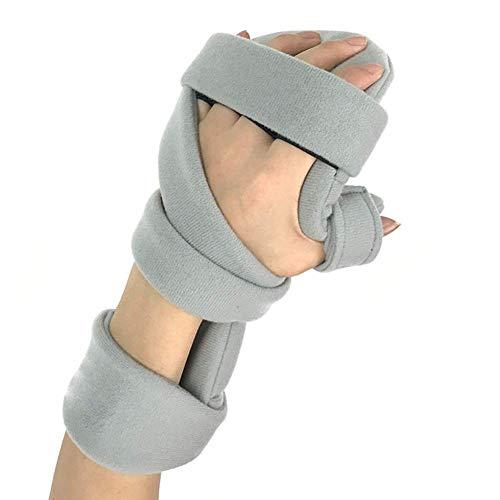 QMJHL Schlaganfall-Handgelenk-Fixierungsplatte, Funktionelle Resthandschiene, verstellbare Handgelenkplatte, festsitzende Fingerorthese für Handgelenkfrakturen, Reha-Trainingsgeräte.