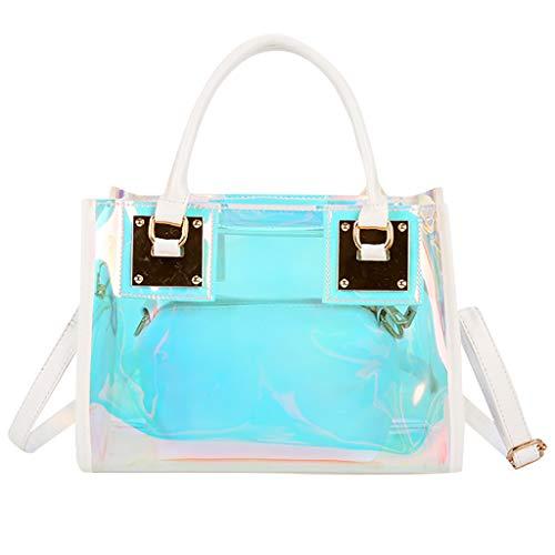 56144932f555 Muium Borsa a Mano Donna Tracolla Women's Fashion New Multi-Function Color  Handbag Messenger Bag Shoulder Bag