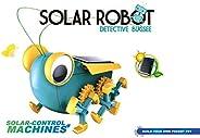 Popsugar Solar Robot Detective Bugsee Educational DIY Science Kit for Kids | Build Your own Pocket pet, Multic