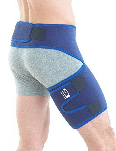 Neo-G Stützbandage für die Leiste-One Size, Unisex, Medical Grade, Qualität Unterstützung, Bandage, hilft entlasten, hilft bei leistenproblemen Zerrungen, Verstauchungen, Muskelschmerzen, Schmerzen, Steifheit, bei beruflichen, Sportverletzungen, Tiefschutz Verletzungen, Recovery, Rehabilitation