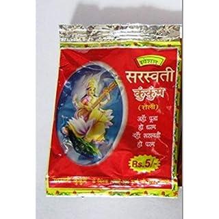 Artcollectibles India 12 Kumkum Powder Red Hindu Puja Sindoor Roli India Havan Religious Rakhi Pooja