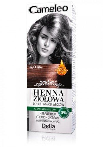 Cameleo Herbal Henna Farbgebung creme braun 75g Natur Henna Extrakt mit marokkanischen Öl