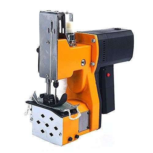 S SMAUTOP Tragbare Nähmaschine Nähmaschine Elektrische Verpackung Tasche Nähte Versiegelung für Gewebte Schlangenhaut Sack Reispapier Plastiktüte (Gelb) -