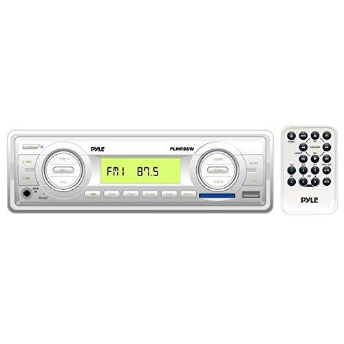 Pyle PLMR88W am/fm-MPX in Dash Marine MP3Player/USB