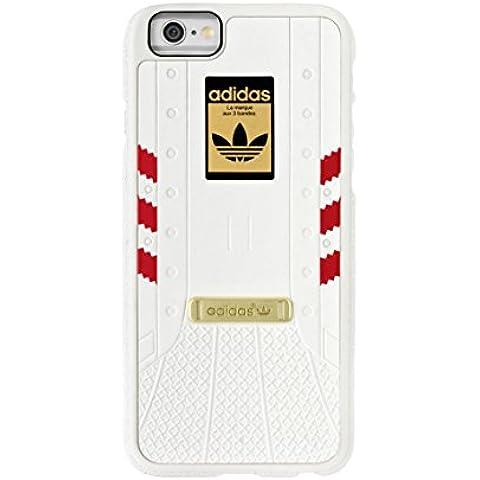 Adidas - Superstar iPhone 6 / 6S (blanco / rojo)