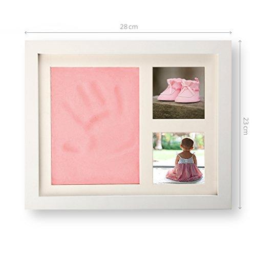 SmileBaby Set marco- Huella mano pie Incluye: Arcilla