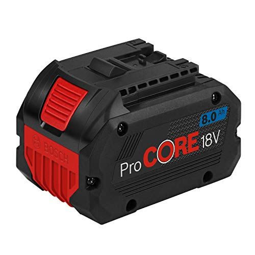 Bosch Professional 1600A016GK Akku ProCORE18V 8.0Ah (18 Volt, im Karton), 18 V, blau