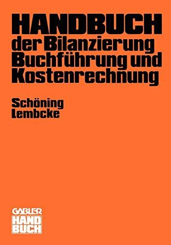 Handbuch der Bilanzierung, Buchführung und Kostenrechnung
