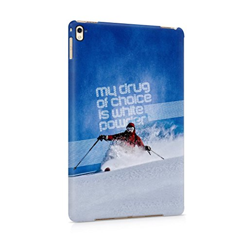 skiing-my-drug-of-choice-quote-plastic-tablet-case-cover-shell-for-ipad-pro-97-carcasa
