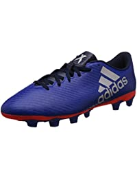 sports shoes b35da ee8c2 Adidas Men s X 16.4 FxG Croyal, Silvmt and Solred Football Boots