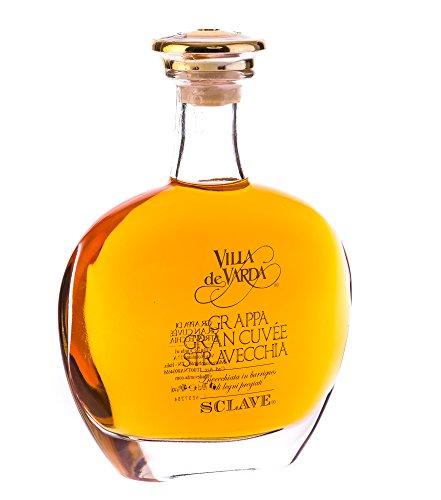 Villa de Varda Grappa Gran Cuvée Stravecchia-Sclave Alta Selezione / 40 % Vol. / 0,7 Liter-Flasche