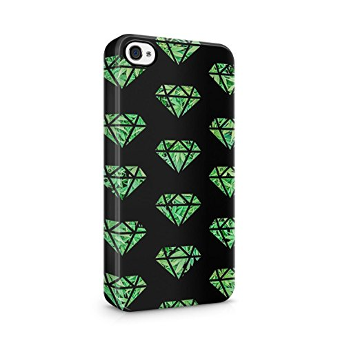 Leaking Diamond Cosimc Galaxy Space Stars Apple iPhone 5 , iPhone 5S , iPhone SE Snap-On Hard Plastic Protective Shell Case Cover Custodia Diamond Cannabis