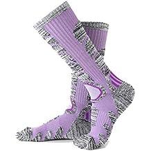 Daesar Calcetines Otoño e Invierno Calcetines de Senderismo Walking Calcetines Deportivos Ciclismo