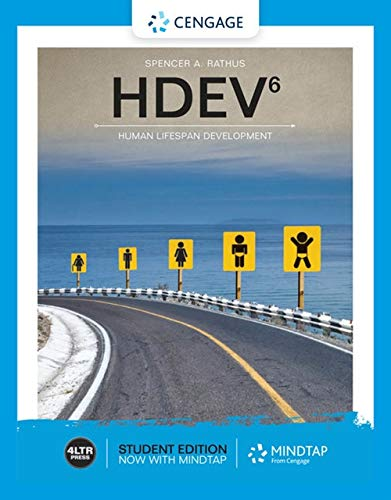 Hdev (with Mindtap, 1 Term Printed Access Card) (Mindtap Psychologie Card Access)