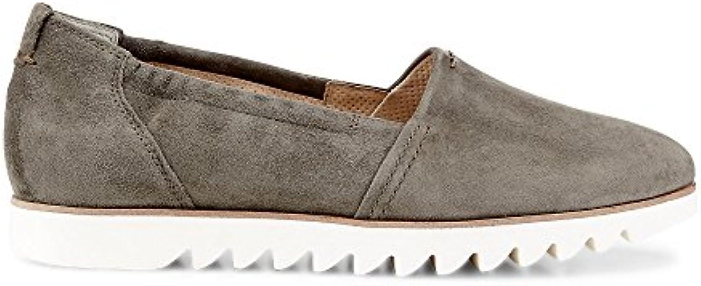 Paul Green Damen Samtziege Oliv Sneaker 2018 Letztes Modell  Mode Schuhe Billig Online-Verkauf