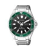 Citizen Promaster Diver 200 m automático NY0071-81E Reloj de Hombre Bisel Verde Supertitanio