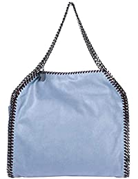 Stella McCartney Falabella Small bolso de mano mujer blu