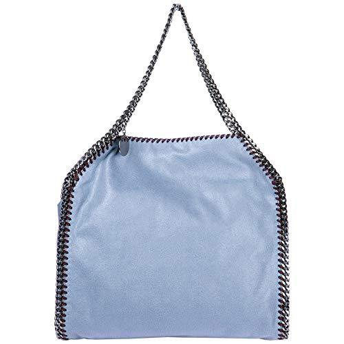 Stella McCartney borsa a mano falabella small donna blu