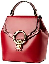 33803f3159d3c ZKOO Damen Mode Handtaschen Schultertasche PU Leder Shopper Kuriertasche Henkeltaschen  Umhängetasche