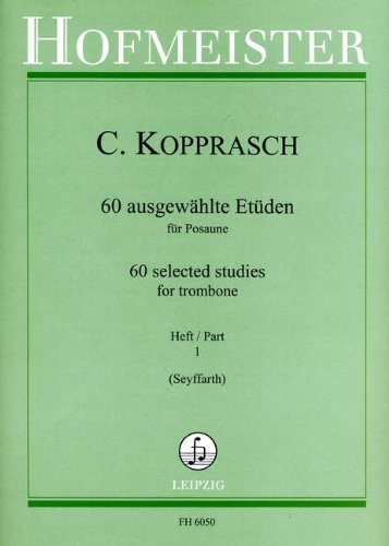60 AUSGEWAEHLTE ETUEDEN 1 - arrangiert für Posaune [Noten / Sheetmusic] Komponist: KOPPRASCH C
