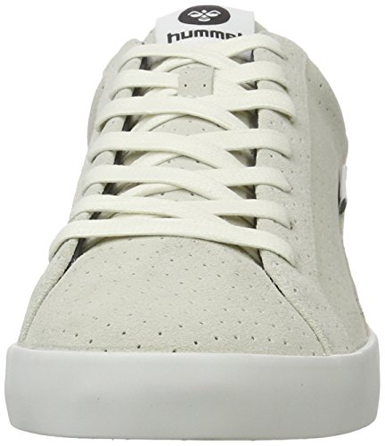 Hummel Cross Court Suede, Sneakers Basses Homme Blanc (White)
