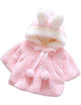 Bekleidung Longra Baby Kleinkind Mädchen Winterjacke Kinderjacken Fell Warm Winter Coat Mantel Jacke Dicke warme...