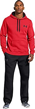 Under Armour Men's Cc Storm Rival Sweatshirt - Risky Redblackblack, Small 3