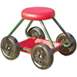 NRS Healthcare - Taburete con ruedas para exteriores