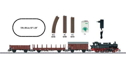 Märklin Trix 21530 - Analog-Startpackung BR74 Güterzug Ep.III