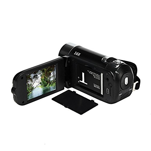 Leoie Camera, 16MP High Definition Digital Video Camcorder 1080P 2.7 inches TFT LCD Screen 16X Zoom Recorder