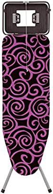 Rolser K-TRES - Tabla de planchar, spirals, color malva
