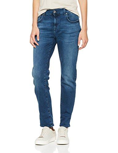 Seven for all Mankind International SAGL Damen Boyfriend Jeans Relaxed Skinny, Blau (Blue Depth 0Wu), W31/L27 (Herstellergröße: 31) (Jeans Seven Mankind For Relaxed All Fit)