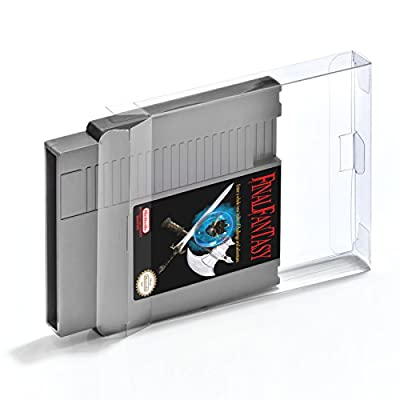 20 GAME BOX PROTECTOR for Nintendo Entertainment System [20 x 0,3MM NES CART] Perfect snug Fit / Crystal Clear by Retro-Doc Game Protectors