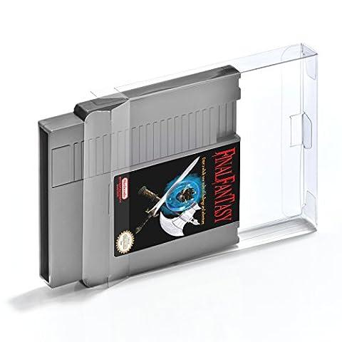 10 Klarsicht Schutzhüllen Nintendo Entertainment System [10 x 0,3MM NES
