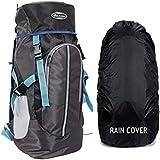 POLE STAR Hike GREYCAMO Rucksack with RAIN Cover/Trekking/Hiking BAGPACK/Backpack Bag