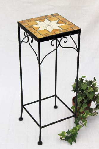 Stool Merano Mosaic 12012 Flower stand 54 Stool square Side table